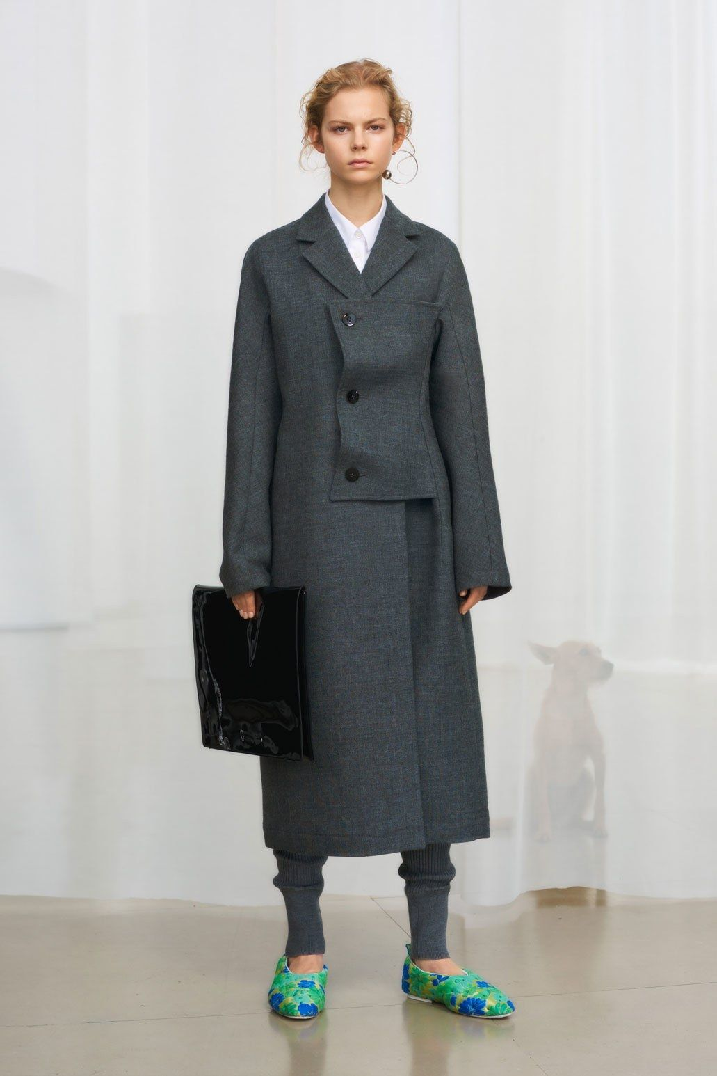 Fashion style Jil fall sander runway for woman