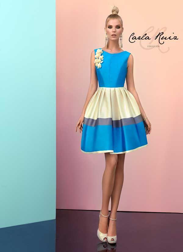 Carla Ruiz 92912 | Cosas para ponerse | Pinterest | Vestidos cortos ...