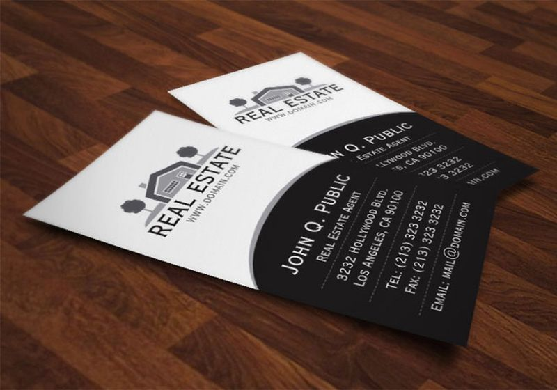 Creative Business Card Design Ideas For Real Estate And Construction