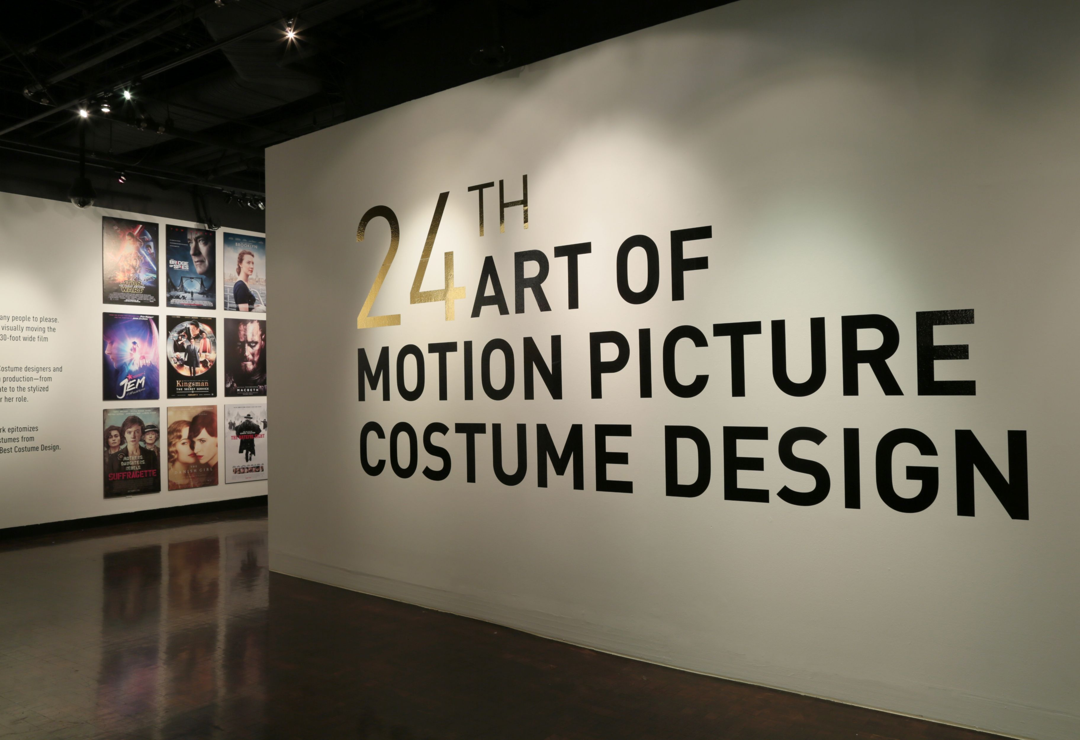 A View Of The 24th Annual Art Of Motion Picture Costume Design Exhibition Fidm Museum Fashion Instit With Images Picture Design Institute Of Design Best Costume Design