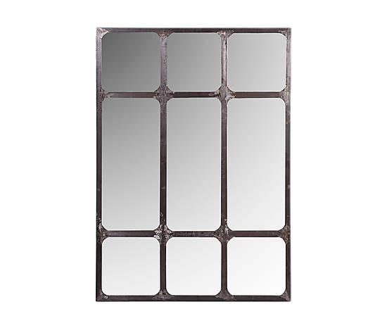 Espejo enmarcado en hierro - 140x100 cm