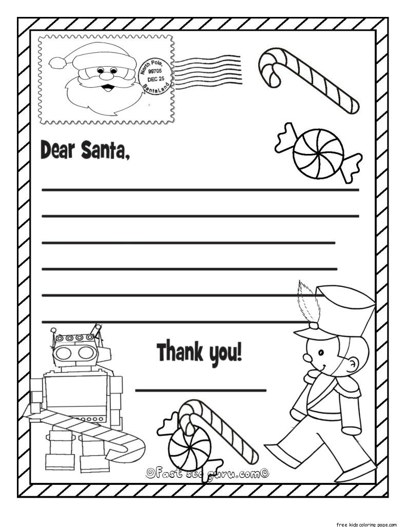 Pin by Tyson on Printables Santa coloring pages