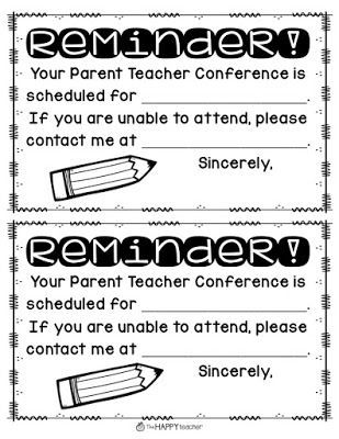Parent Teacher Conference Tip Send home Parent Teacher Conference - conference sign up sheet template