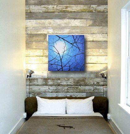 Original+Landscape+Painting+20x20+Gallery+by+LittleSparrowGallery