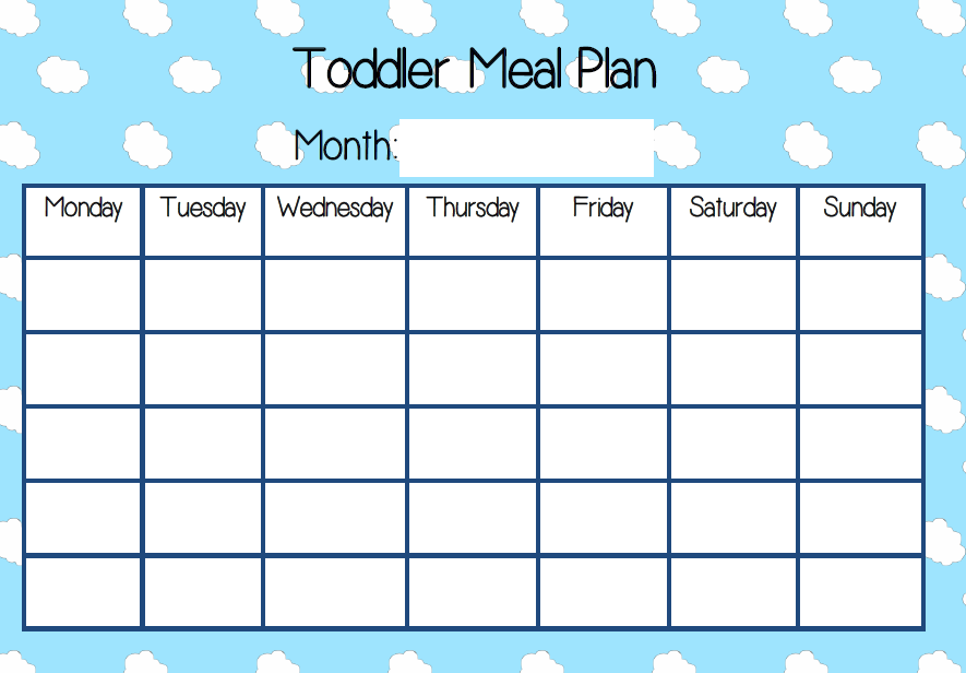 Pin By Sahar Alnas On Babies Toddlers And Beyond Meal Plan For Toddlers Kids Meal Plan Meal Planning