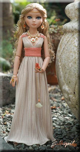 Silkspike Dolls - Tutorial Grecian Dress (not EAH specific but I'll be using this for an EAH mod myself) #dolls