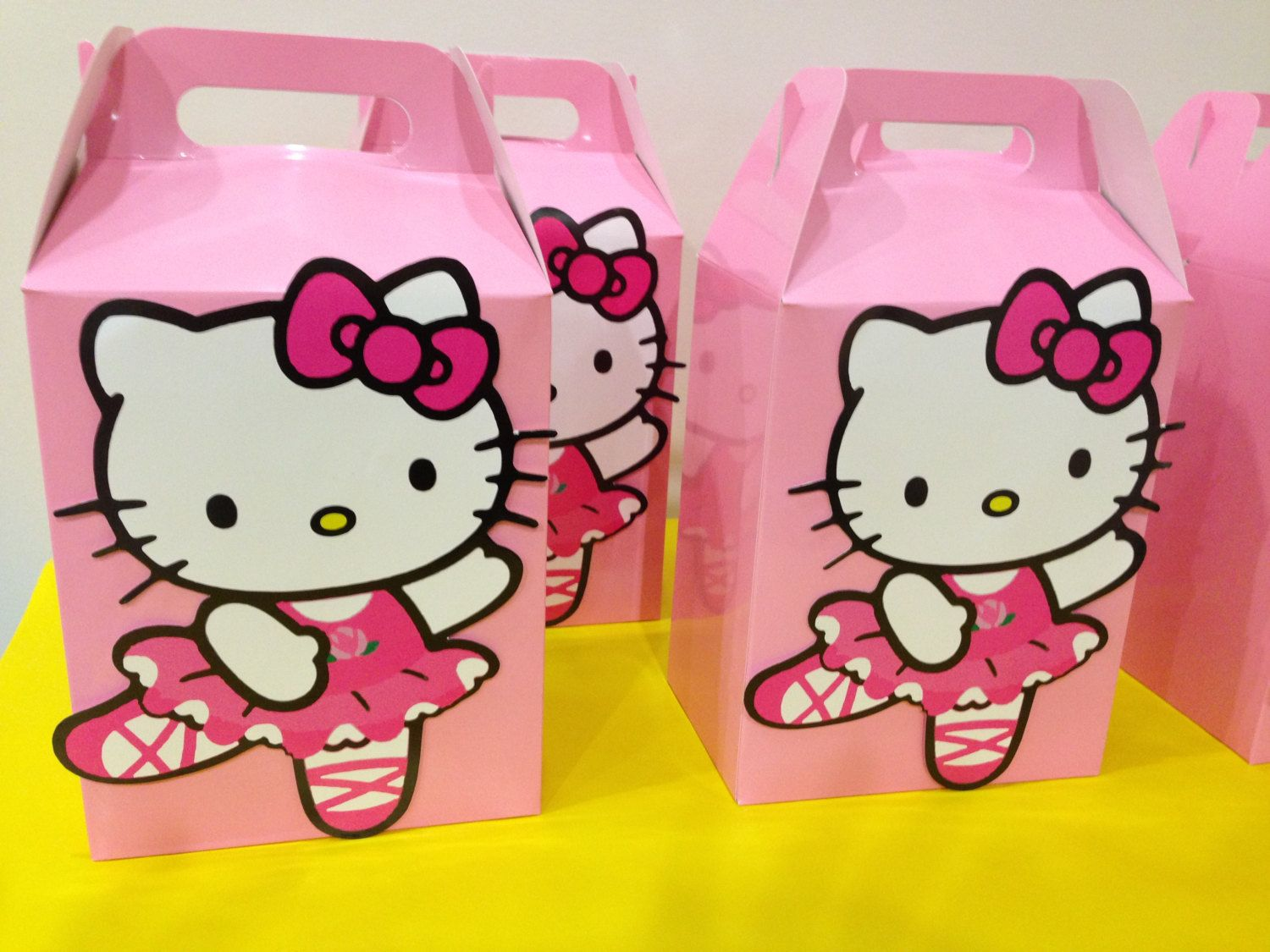Kitty Favor Boxes Littleartistshop