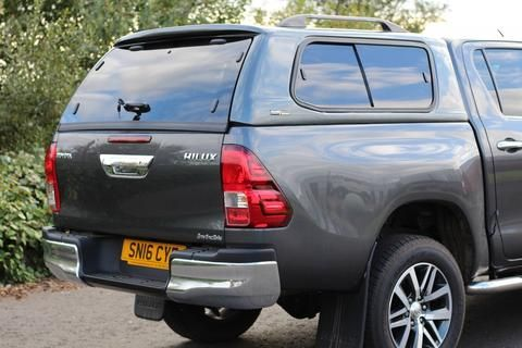 Toyota Hilux Hardtop LupoTop Side Windows – Pick Up Tops UK