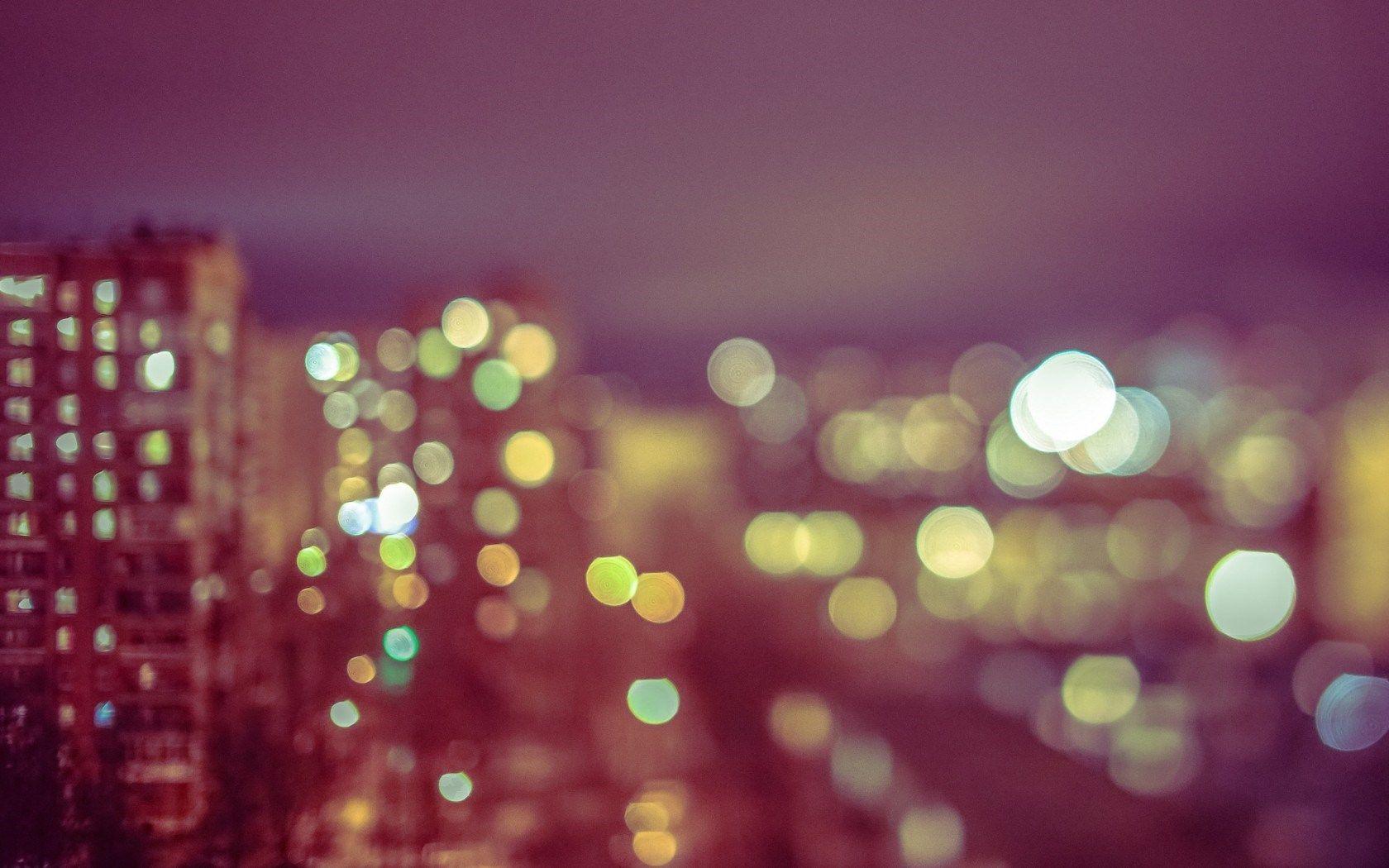 City Buildings Bokeh Hd Wallpaper Freehdwalls Bokeh Photography
