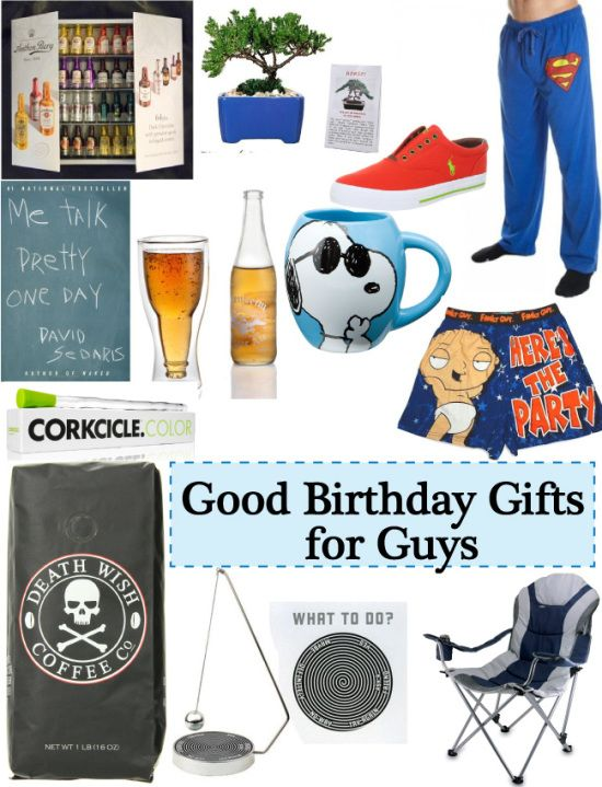 Good Birthday Gifts For Guys 21st Man Presents