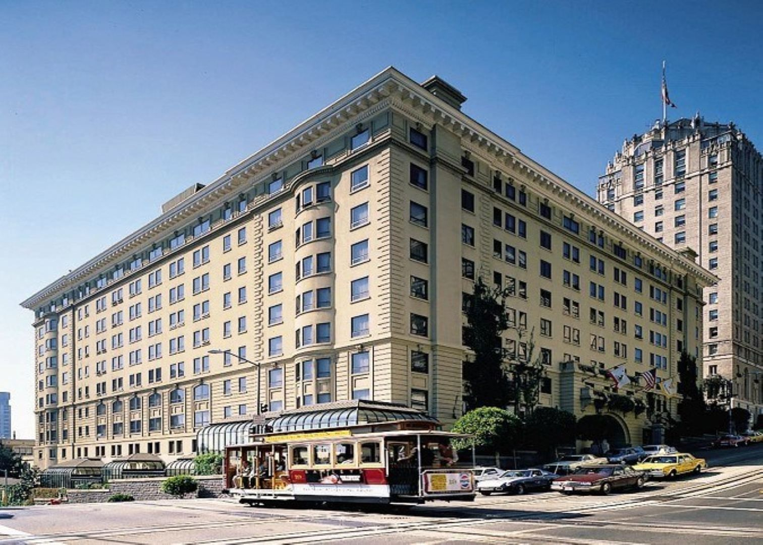 Stanford Court Hotel in San Francisco Opened as an