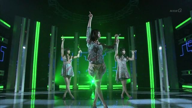 funny map style // Perfume - One Room Disco [TV] by Perfumer. On Air: 2009.03.19