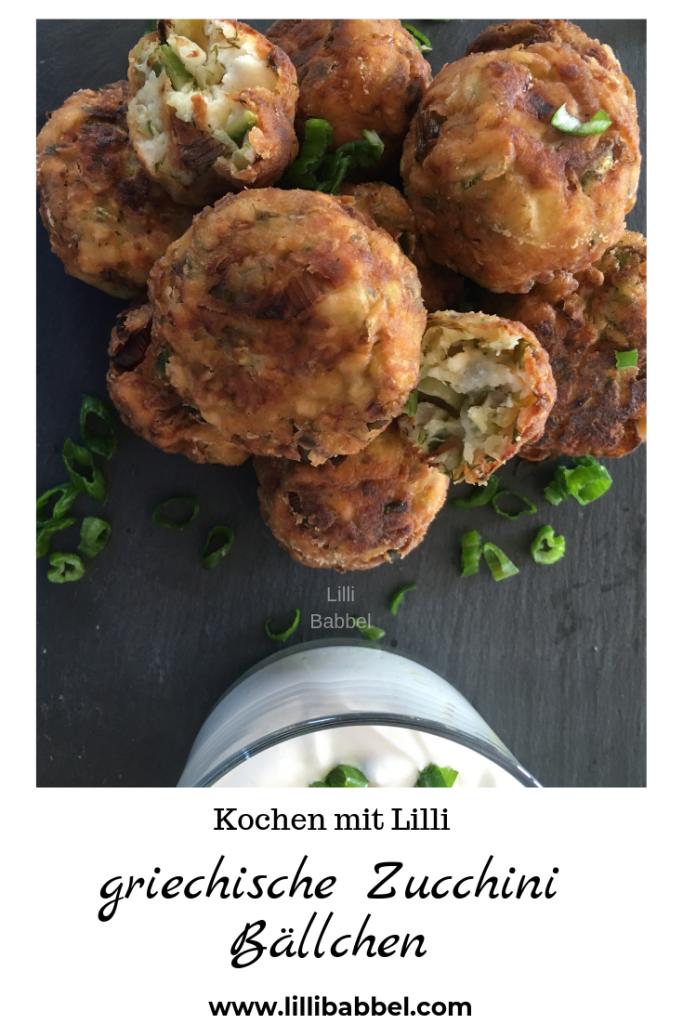 Photo of Kolokithokeftedes: griechische Zucchini Bällchen Eine leckere griechische Vorsp…