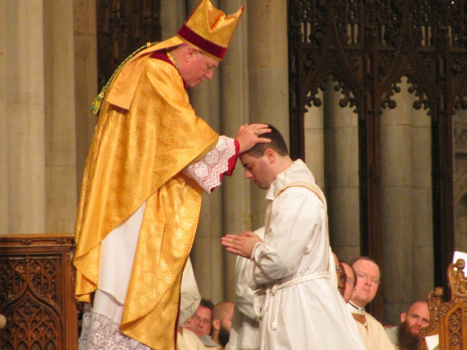 Catholic teaching in this sacrament ordination is a process in which men are integrated into for Ordination images
