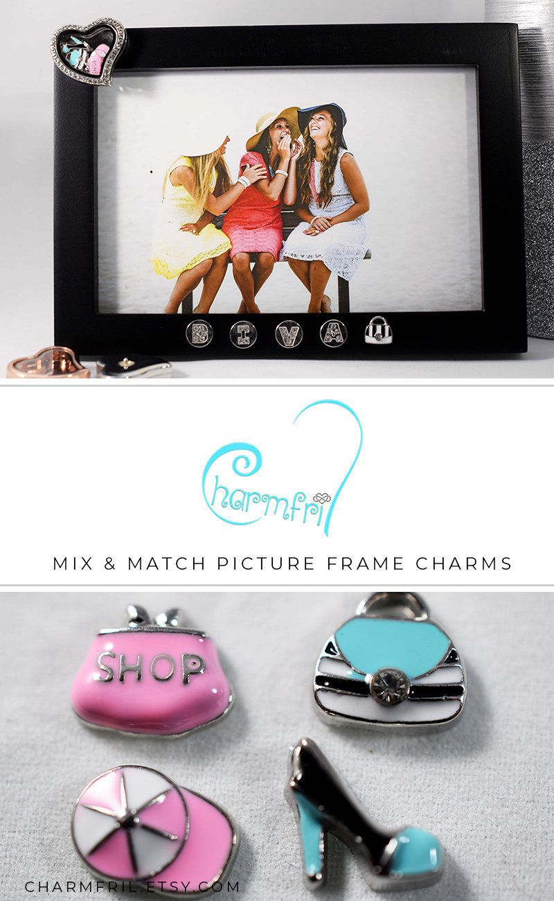 Diva Picture Frame Bridesmaid Gift, Diva Charms for Picture Frame ...