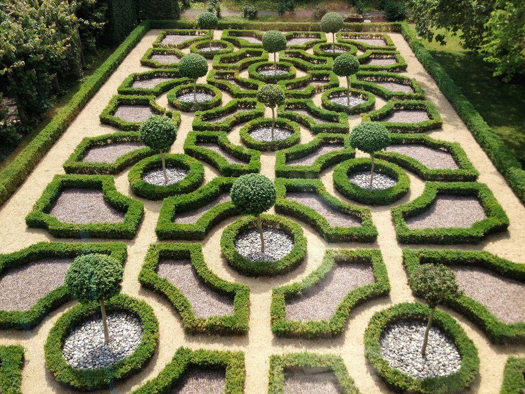 Moseley Old Hall 17th Century Knot Garden Garden Plants 17th Century
