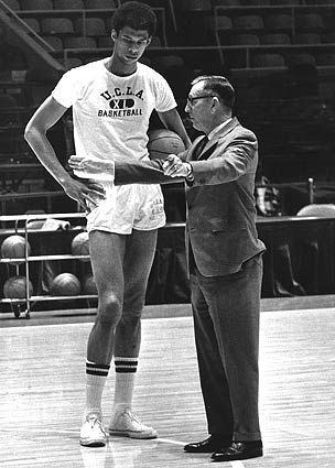 Lou Alcindor (prior to his conversion to Islam) and Coach John ... 8abd3d71f6a