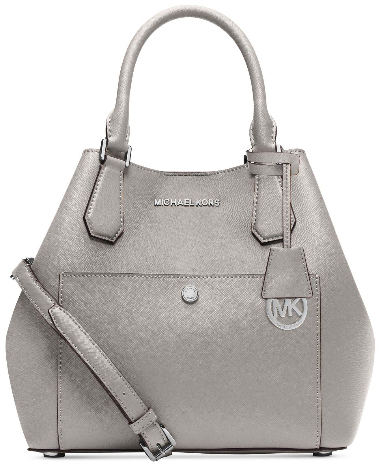 MICHAEL Michael Kors Greenwich Large Grab Bag - Handbags \u0026 Accessories -  Macy\u0027s