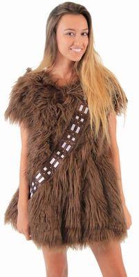 Star Wars Chewbacca Women S Costume Dress Halloween With Kbear