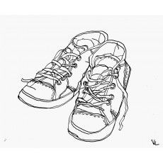 galerie dart en ligne belartvita et artbox dessin chaussures