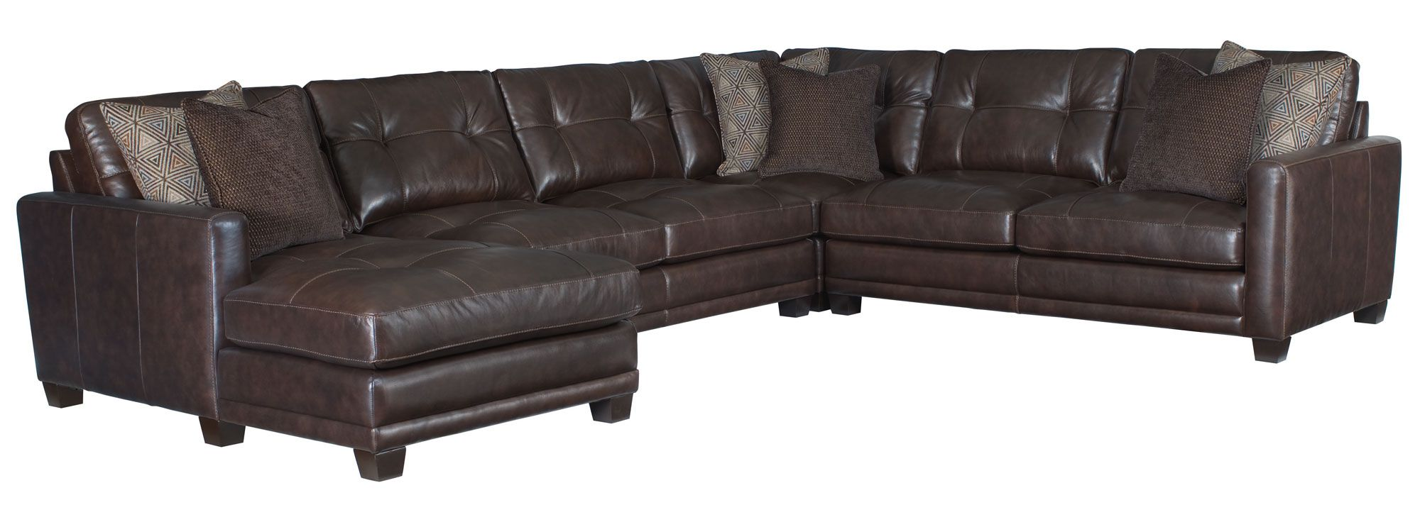Bernhardt sectional sofa with chaise refil sofa for Bernhardt chaise