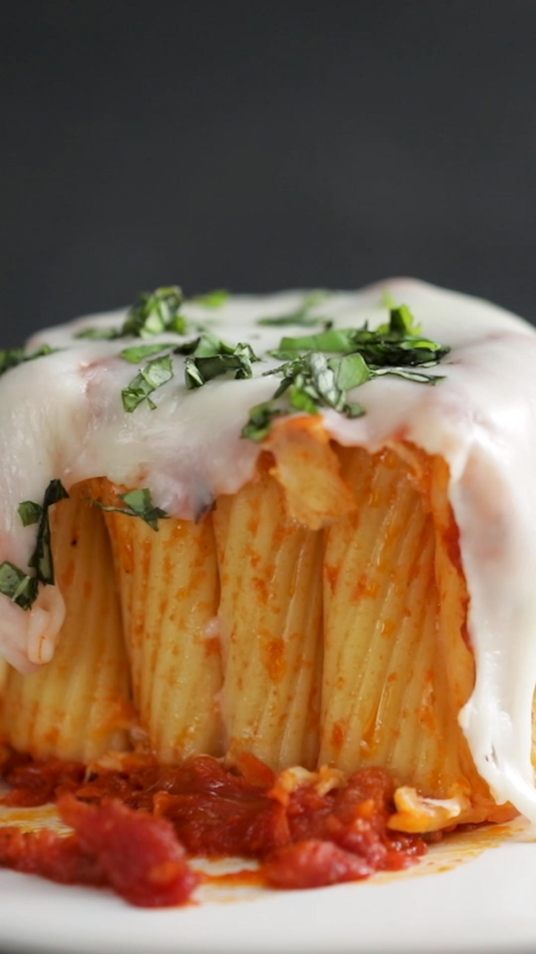 Pasta Mug Rigatoni