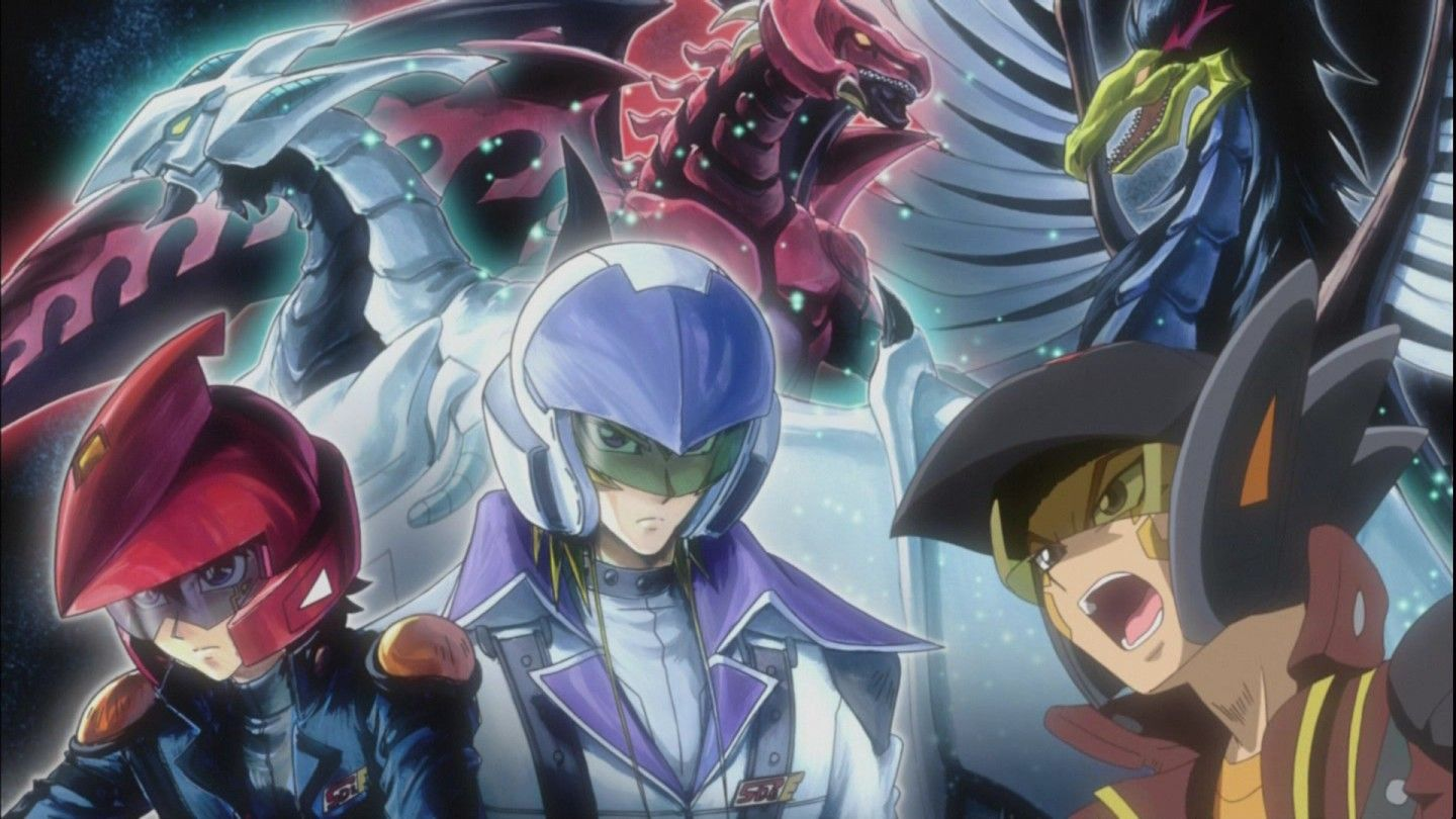 YuGiOh! 5D's Crow, Jack and Yusei Yu gi oh 5d's