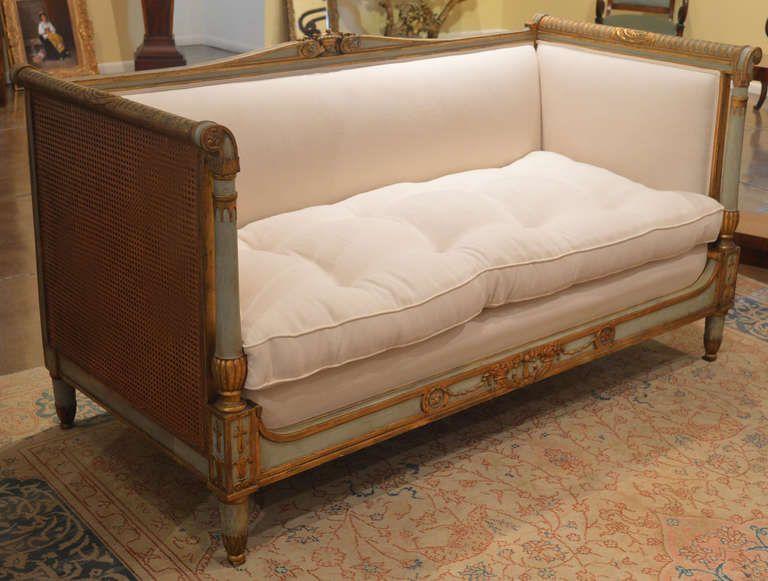 Antique French Sofa, Directoire Furniture, Directoire Sofa   VANDEUREN, Los  Angeles CA - Antique French Sofa, Directoire Furniture, Directoire Sofa