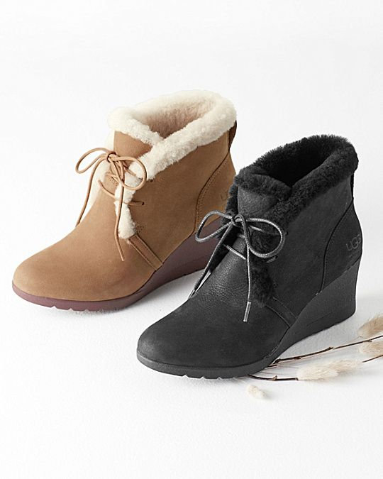 5dcd7b9567fe UGG® Jeovana Wedge Booties