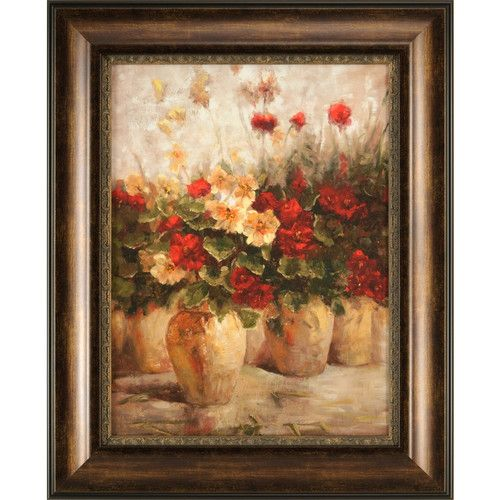 Ashton Wall Décor LLC Fragrant Memories Large Framed Painting ...