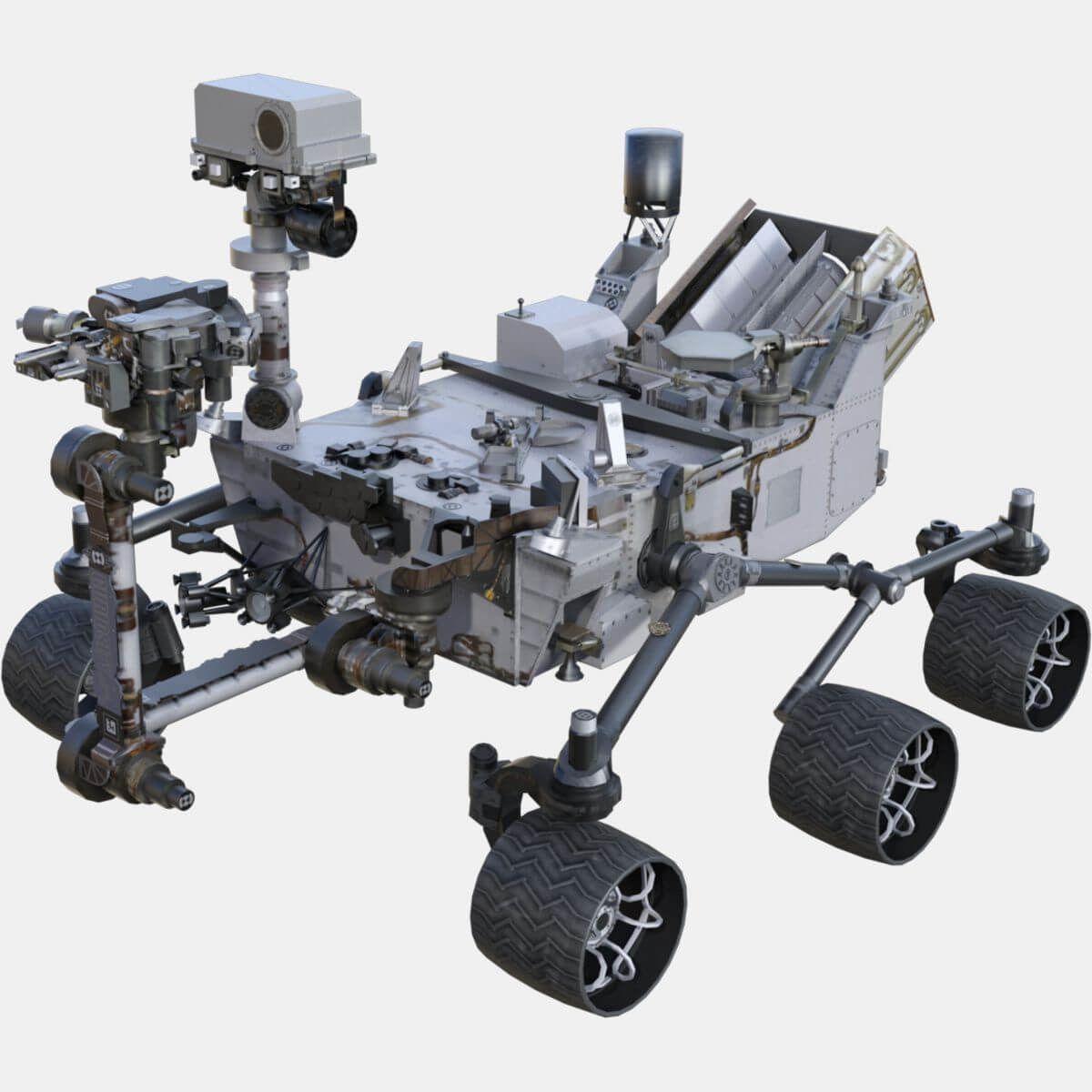 Nasa Curiosity Rover 3d Model Nasa Curiosity Rover Curiosity Rover 3d Model