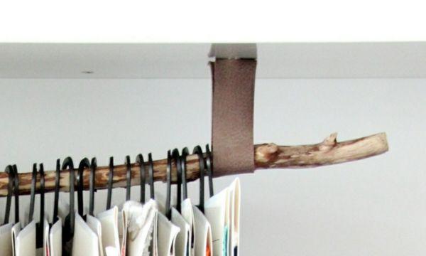 Kleiderstange An Wand kleiderstange für die wand aus holz möbel ideen wand