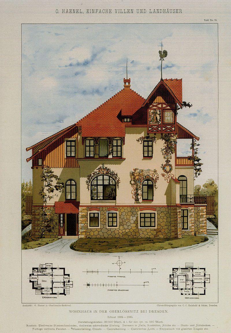 Architekt Radebeul villa oswald haenel in radebeul veröffentlichung architecture