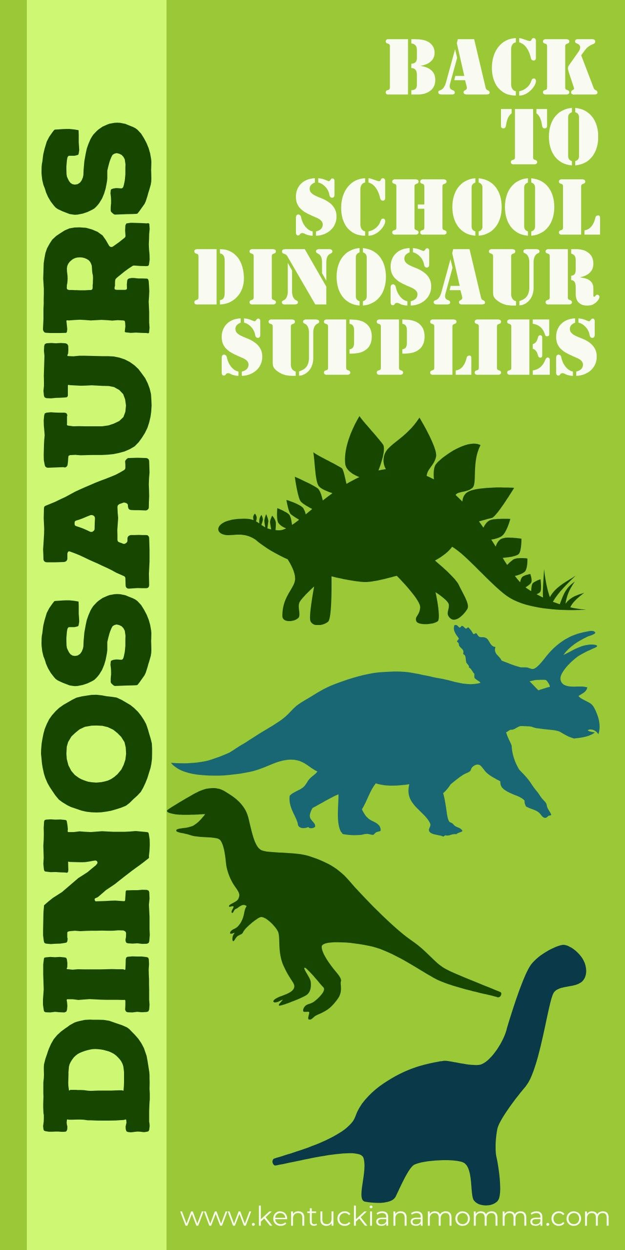 Do you have a dinosaur enthusiast headed back to school