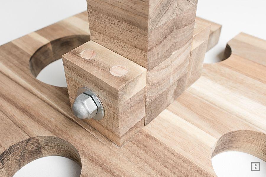 Ikea Küchenbrett ~ Picknicktisch weinhalter schneidebrett ikea hack ikea hack