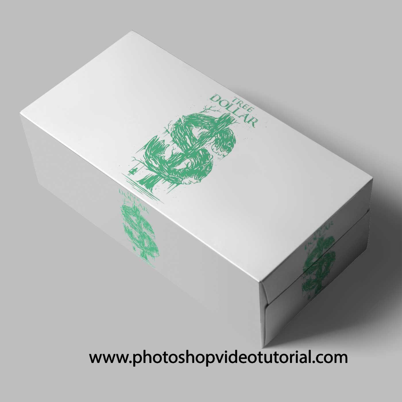 Free Download Rectangular Box Mockups Logo Design Mockup Free Logo Mockup Mockup Free Psd