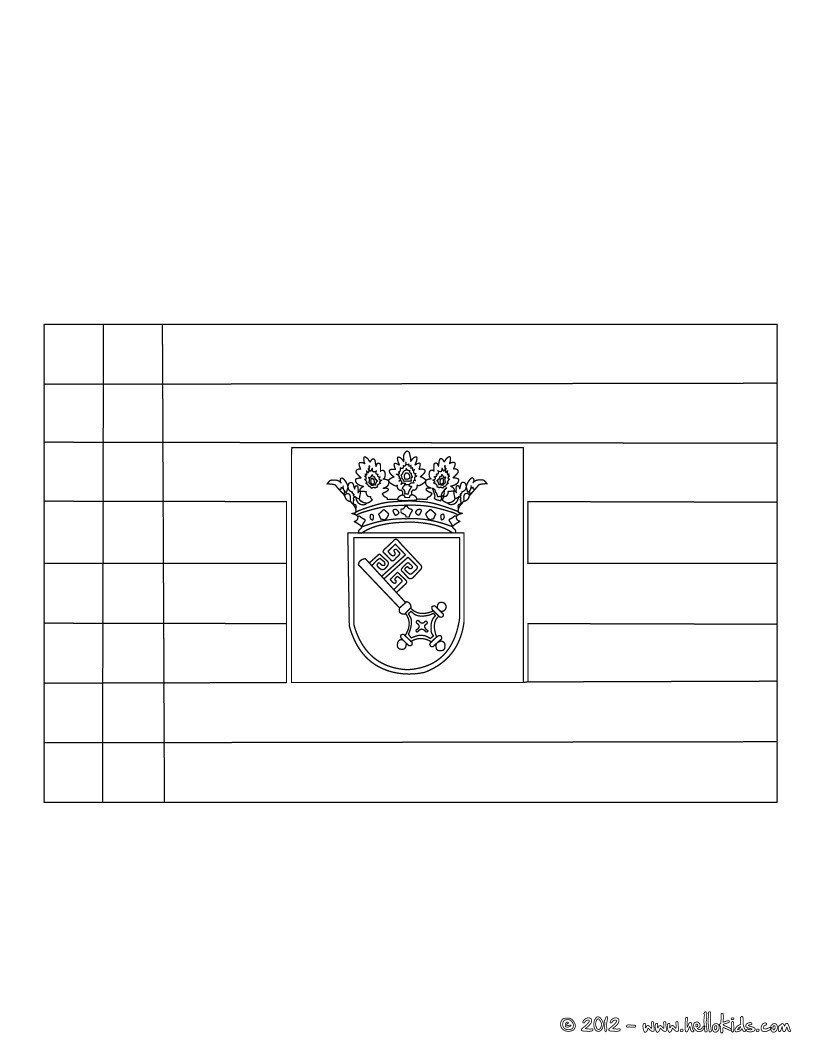 world flags coloring pages flag of bremen coloring pages