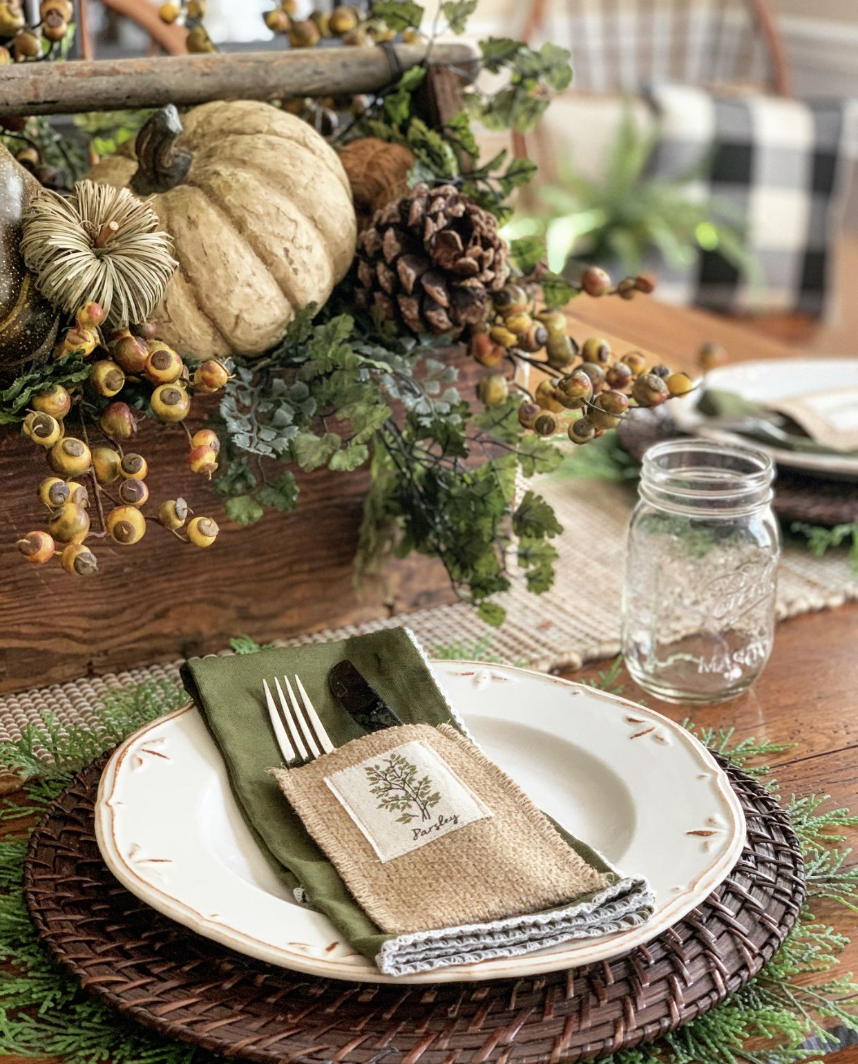 Easy Fall Table Decor Ideas Stacy Ling Table Decorations Thanksgiving Table Decorations Thanksgiving Centerpieces