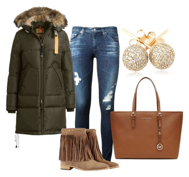 """""""www.fashionyouknow.se"""" by sofie-wester on Polyvore featuring AG Adriano Goldschmied, Parajumpers, Michael Kors, MICHAEL Michael Kors and Loushelou"""