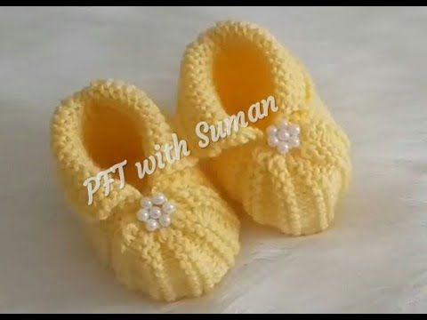 Photo of New Baby Booties knitting design/pattern #88 for beginners,cardigan, sweater, jacket ||in hindi||