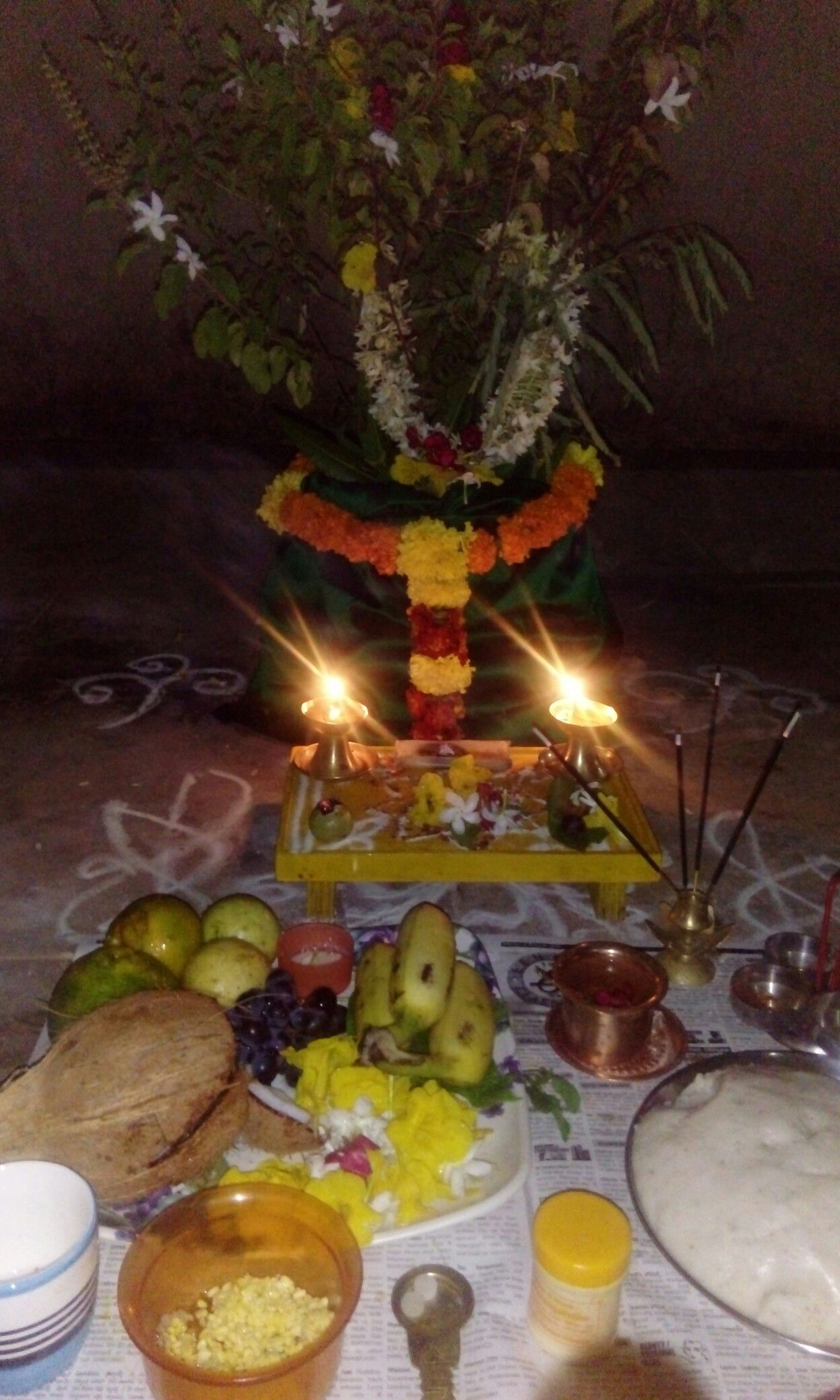 tulasi pooja pooja decorations pinterest decoration