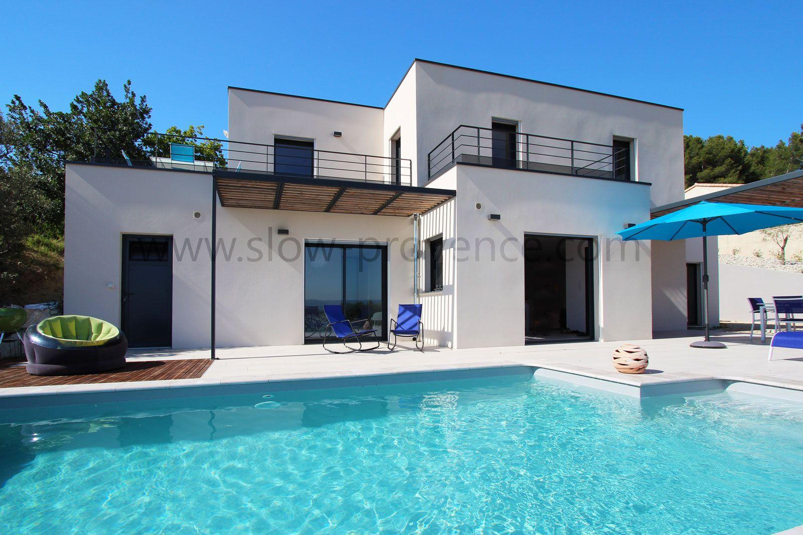 Villa contemporaine climatisée à louer, avec piscine privée et ...