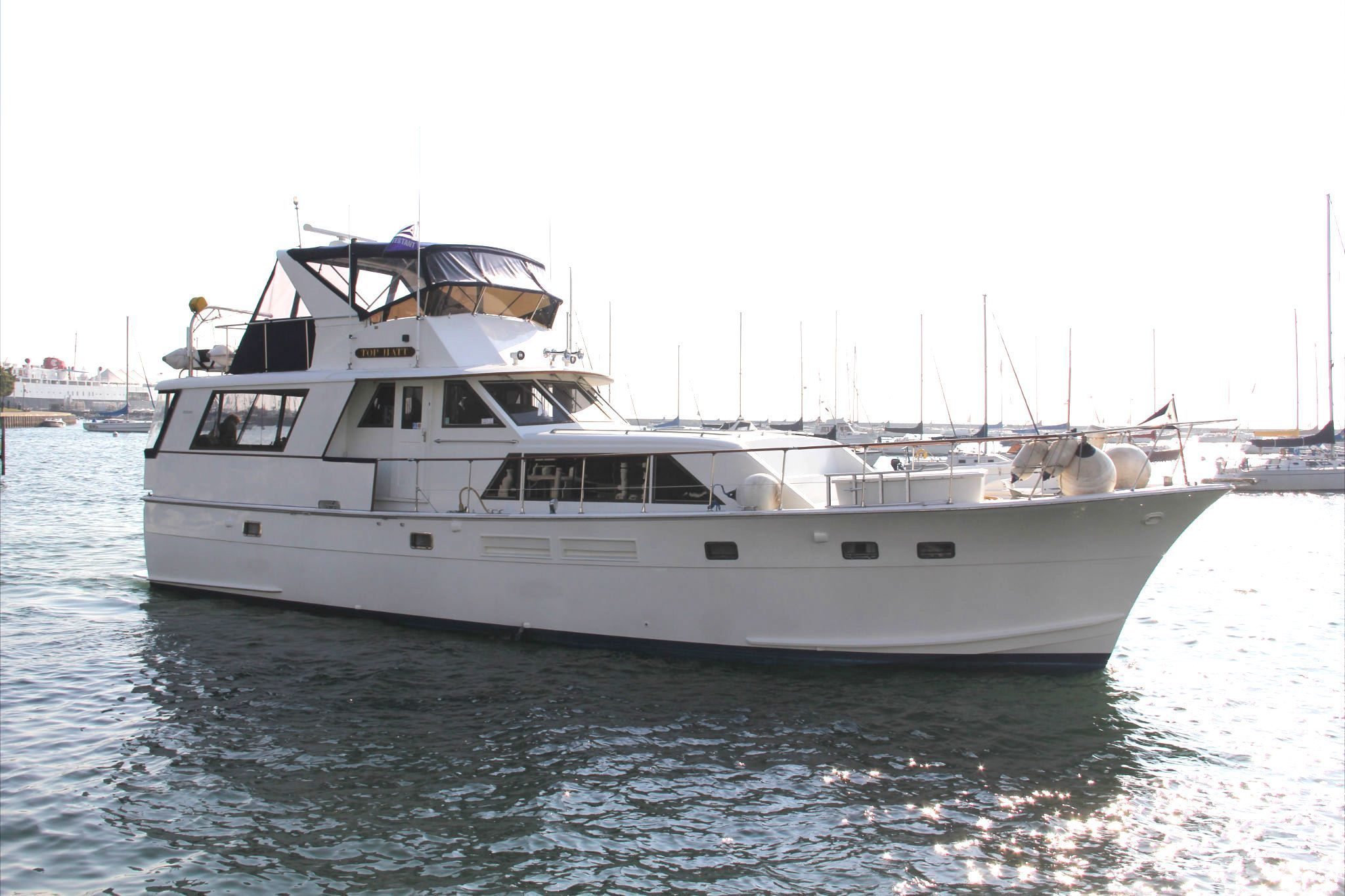 1971 Hatteras 58 Tri Cabin Power Boat For Sale - www