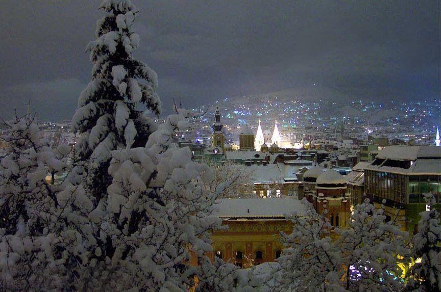 Winter In Sarajevo Bosnia Sarajevo Bosnia Bosnia Herzegovina