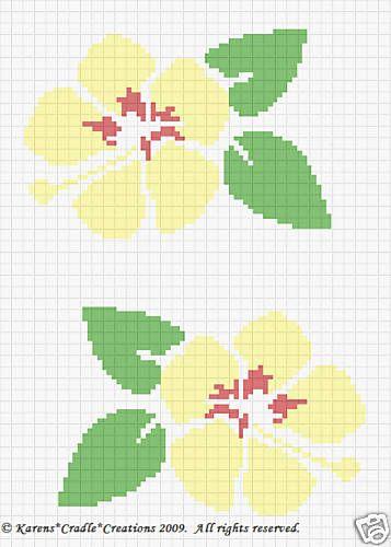 Crochet Patterns- HIBISCUS HAWAII STATE FLOWER | Stricken häkeln ...
