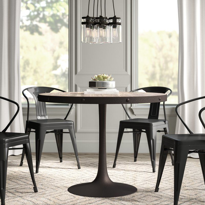 Amherst Industrial Dining Table Dining Table Dining Room