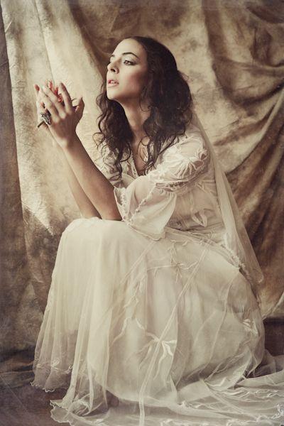 Bridal Style: Inga Nataya Bridal Wear 'White Dahlia' Collection