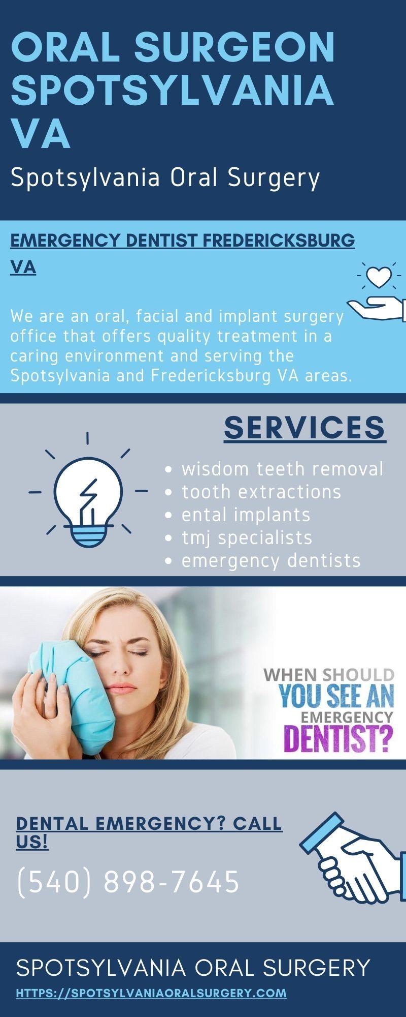 Emergency Dentist Near Fredericksburg VA Spotsylvania