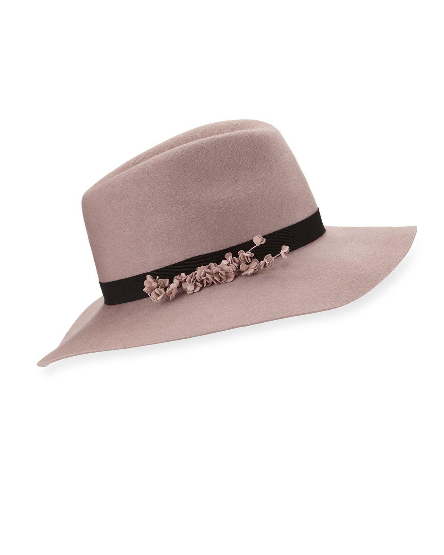 3b3033c74cd50 Georgina Felt Fedora Hat