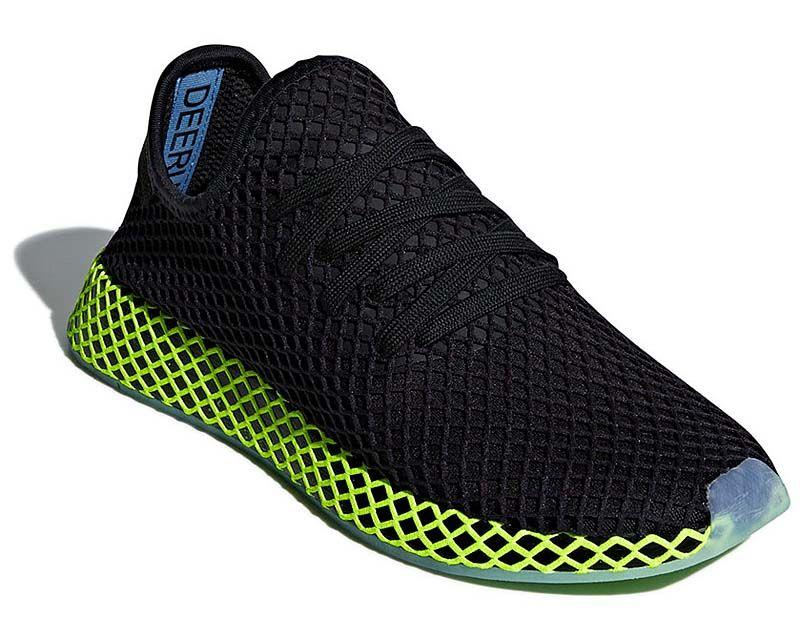 buy popular 7ba9f 84ec5 adidas Originals DEERUPT RUNNER CORE BLACK  CORE BLACK  ASH BLUE b41755  アディダス
